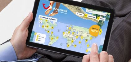 TUI Reisewelt: auch online