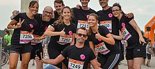 Gruppenfoto Team LOOK//one beim b2run 2019 in Hannover